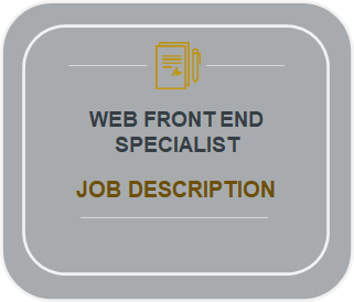 Web Front End Specialist